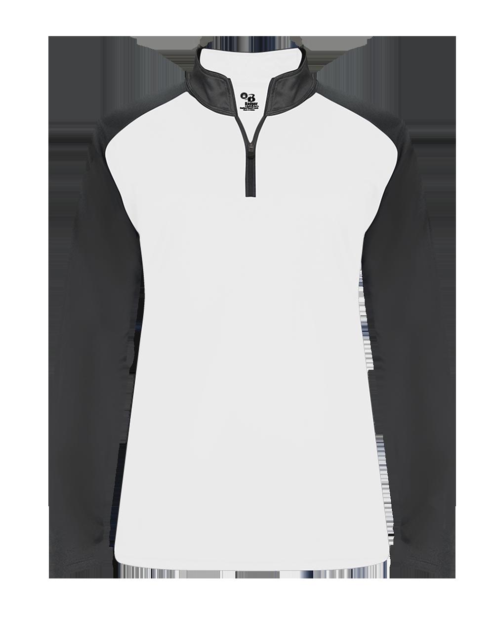 Ultimate Softlock Women's 1/4 Zip - White/Graphite