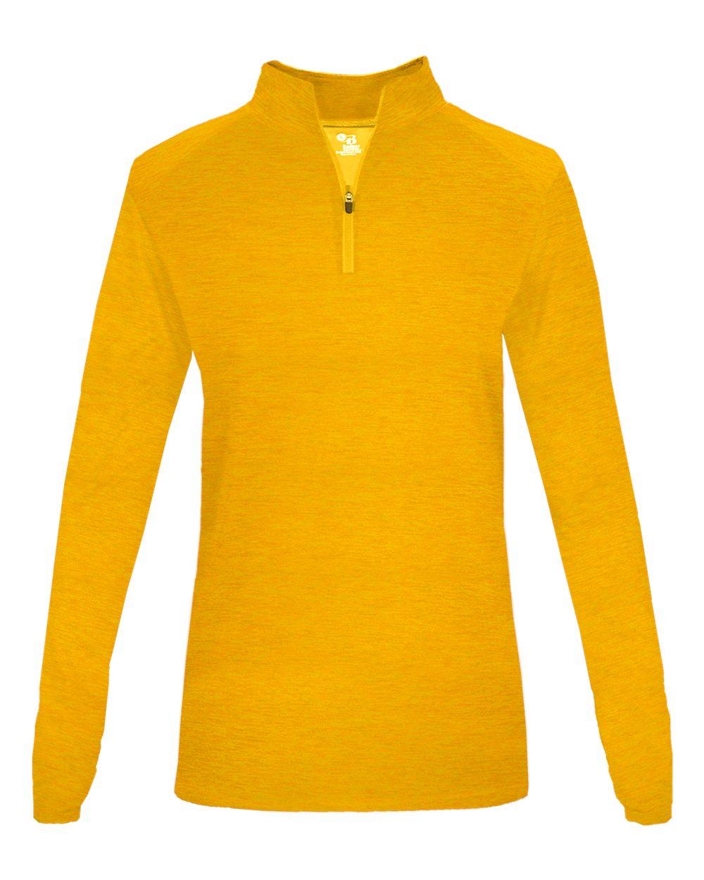 Tonal Blend Women's 1/4 Zip - Gold Tonal Blend