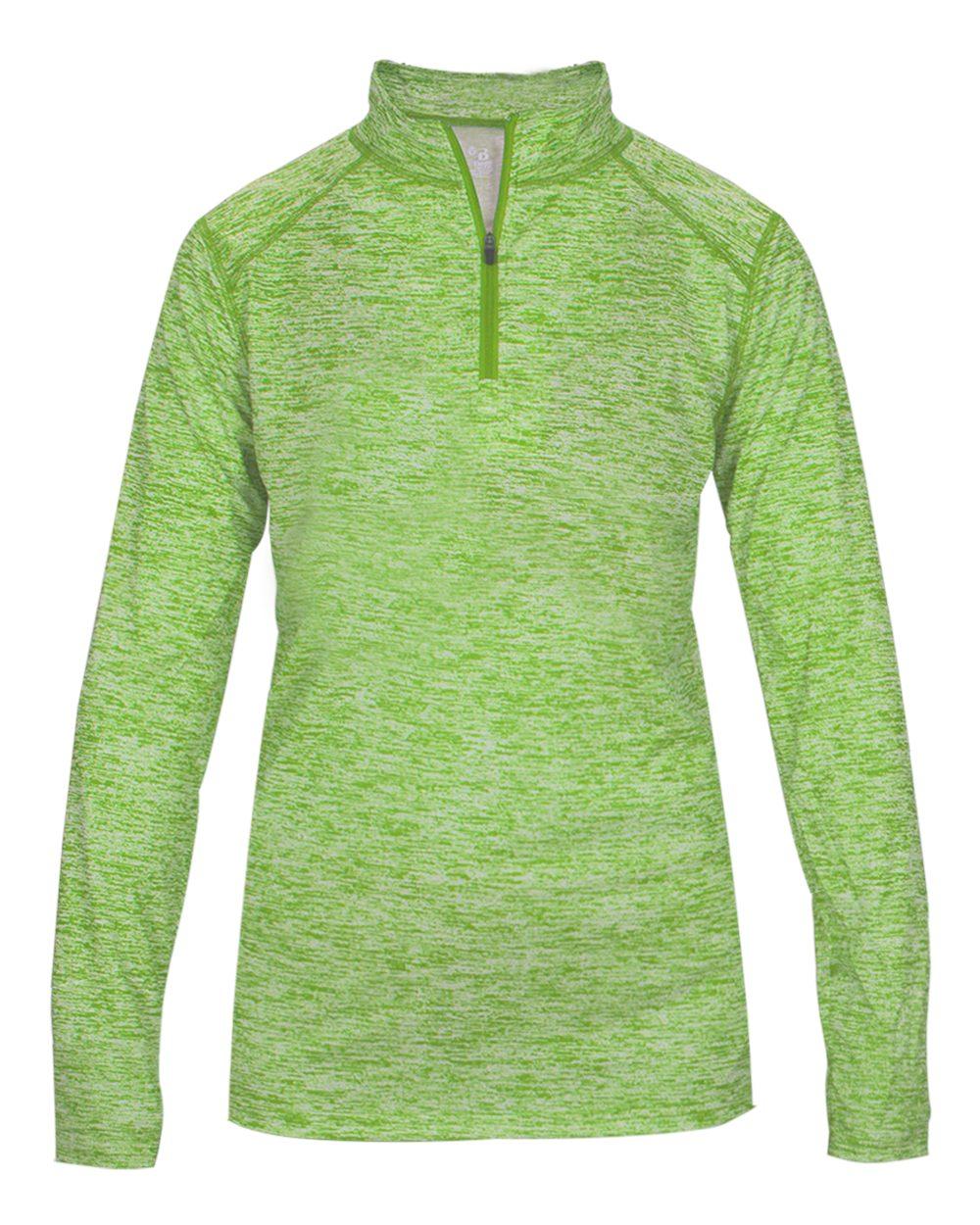 Blend Women's 1/4 Zip - Lime Blend