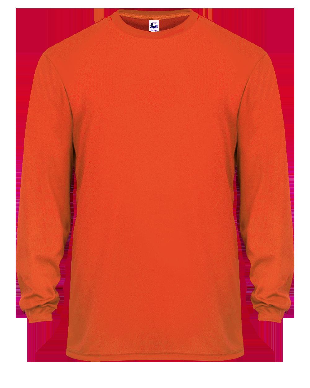C2 L/S Tee - Burnt Orange (005104BO)