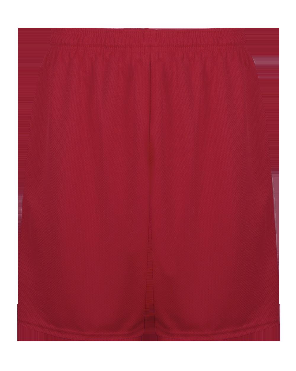 C2 Mock Mesh 7 Inch Short - Red (005137RD)