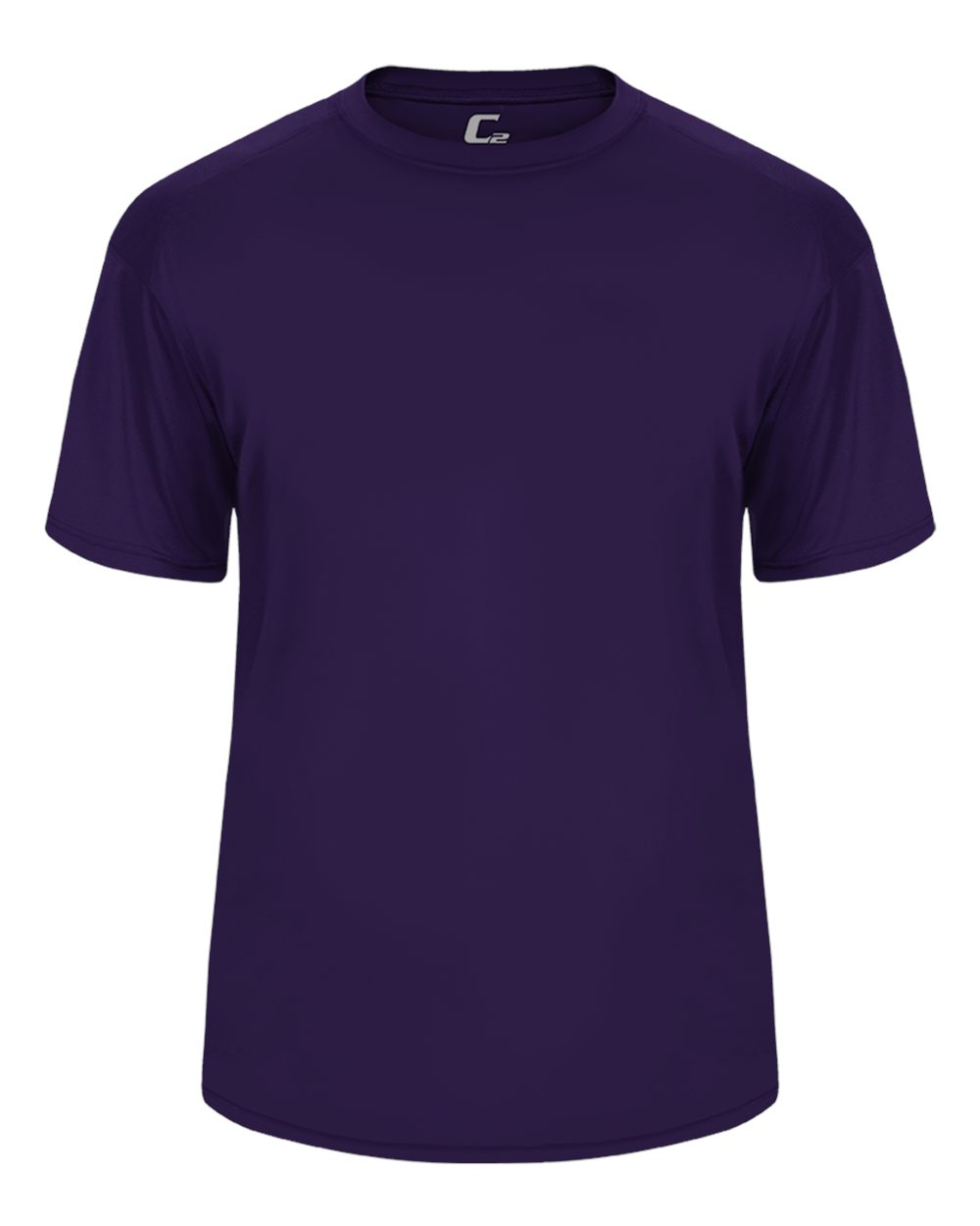 C2  Performance Yth Tee - Purple