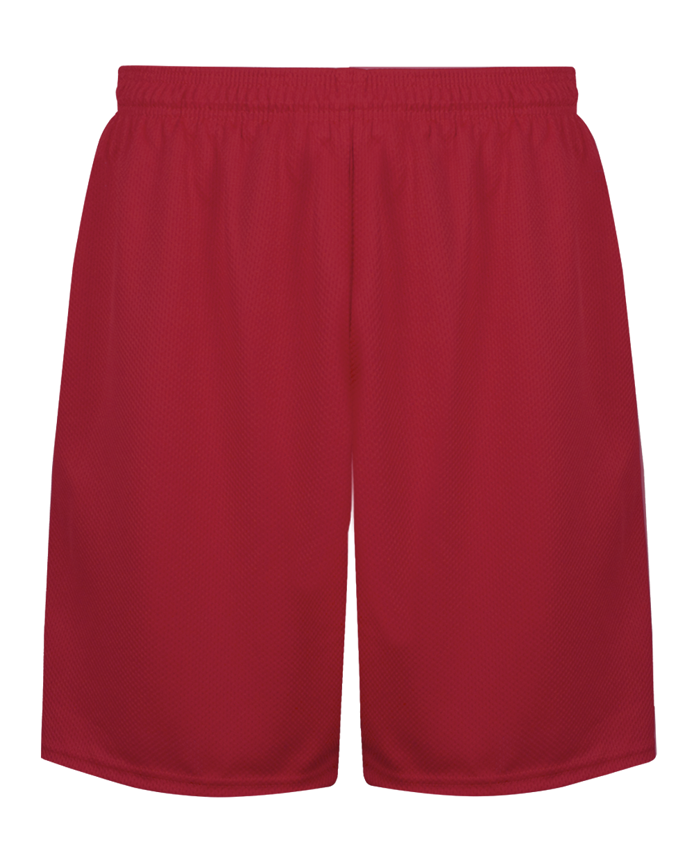 C2 Mock Mesh Youth Short - Red