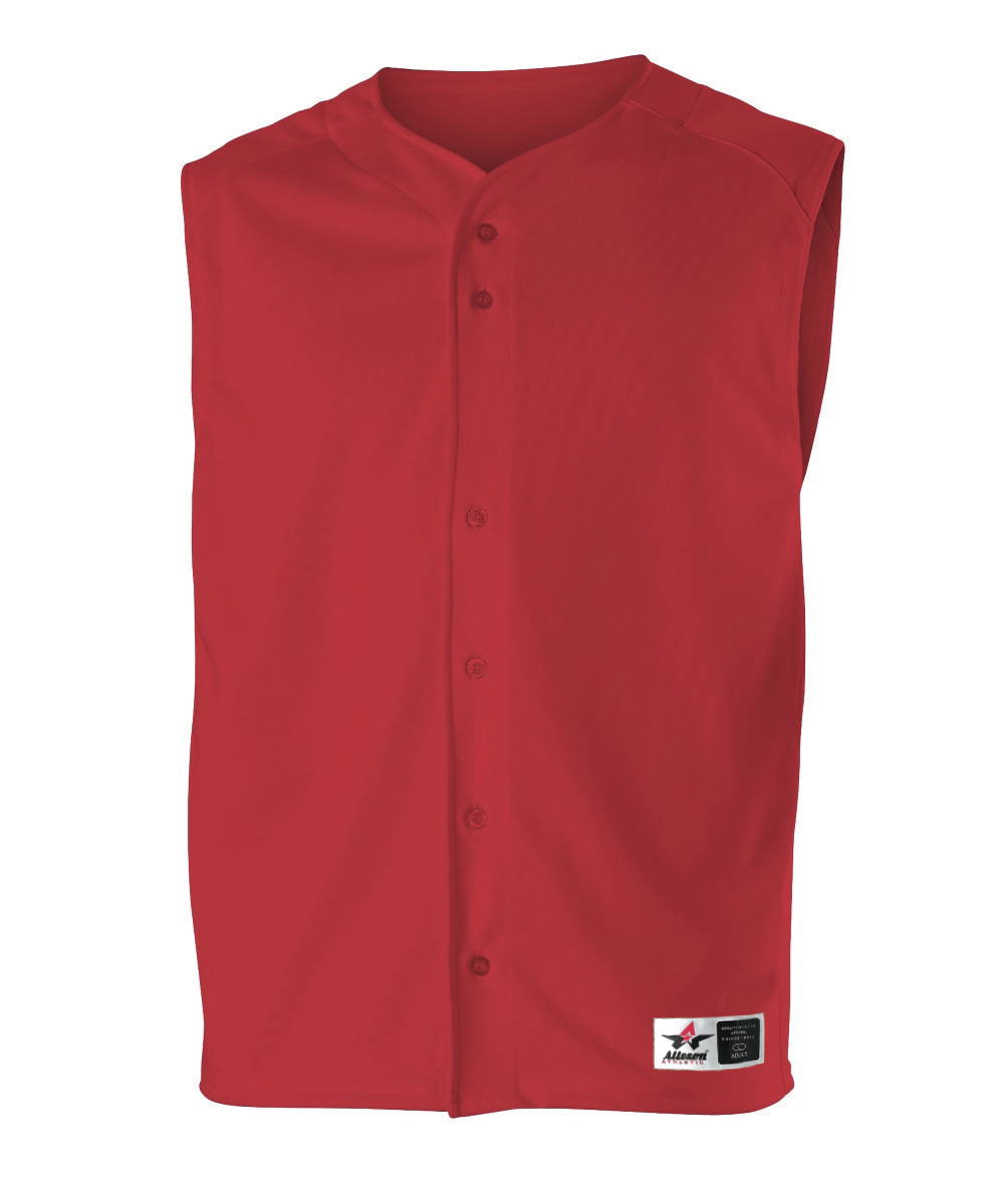 Youth Baseball Vest - Red