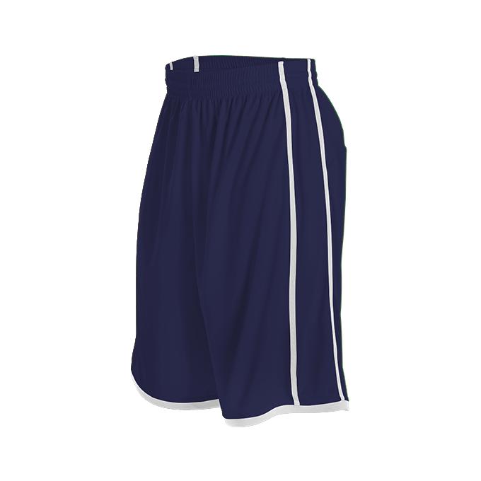 Womens Basketball Short - Navy/White