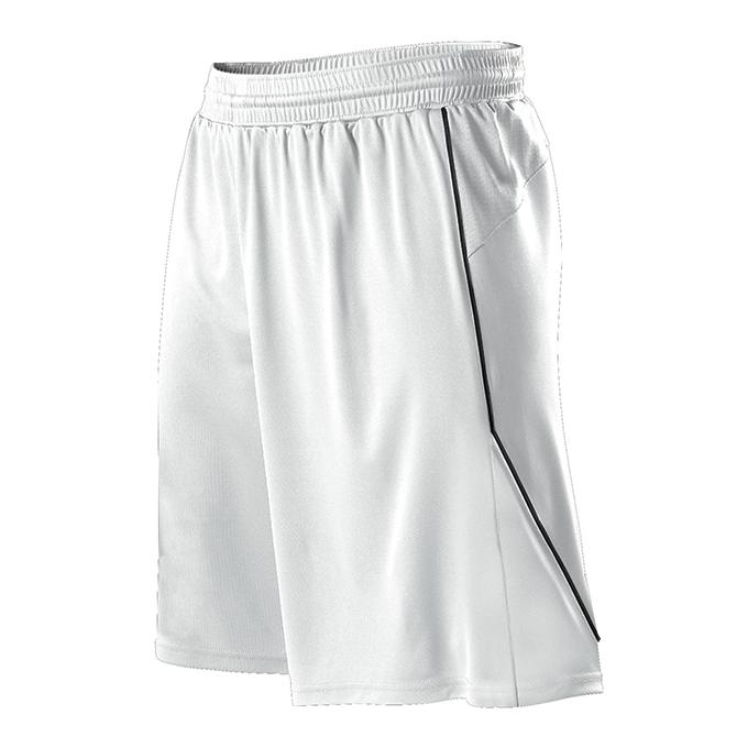 Womens Basketball Short - White/Black