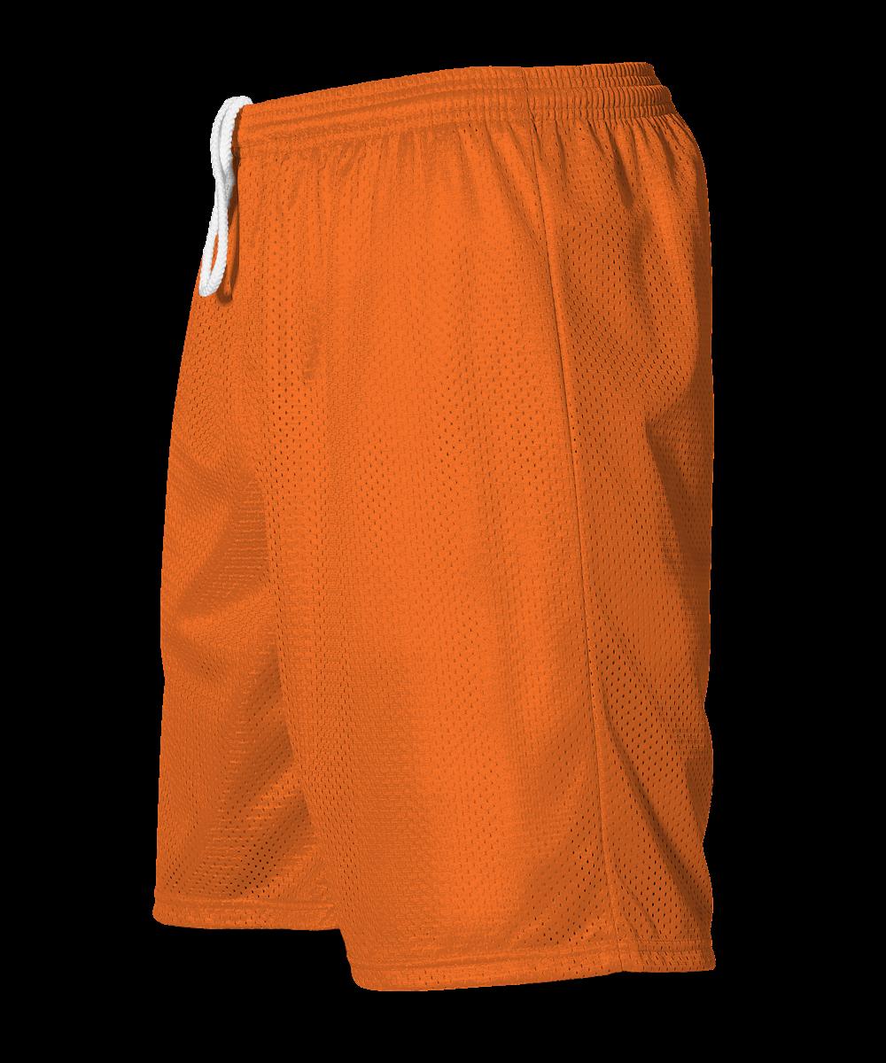 Adult Mesh Short - Burnt Orange