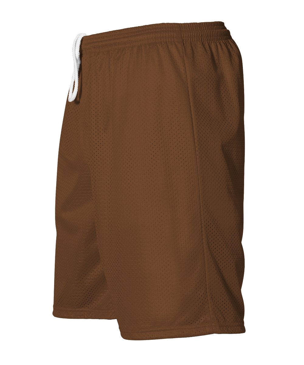 Adult Mesh Short - Brown