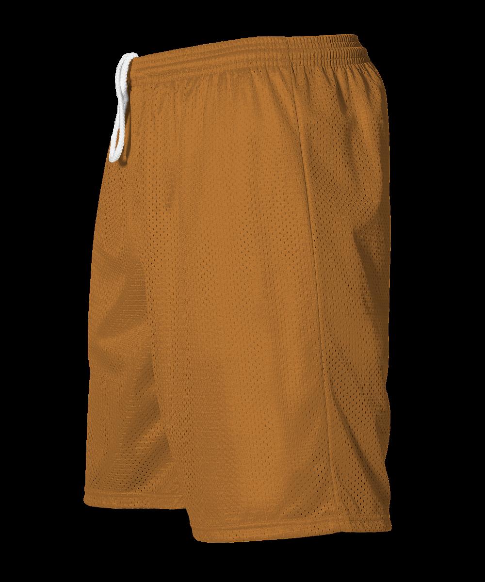 Adult Extreme Mesh Short - Texas Orange