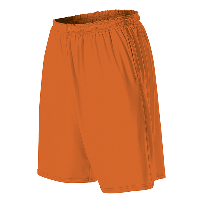 Womens TECH Shorts - Burnt Orange