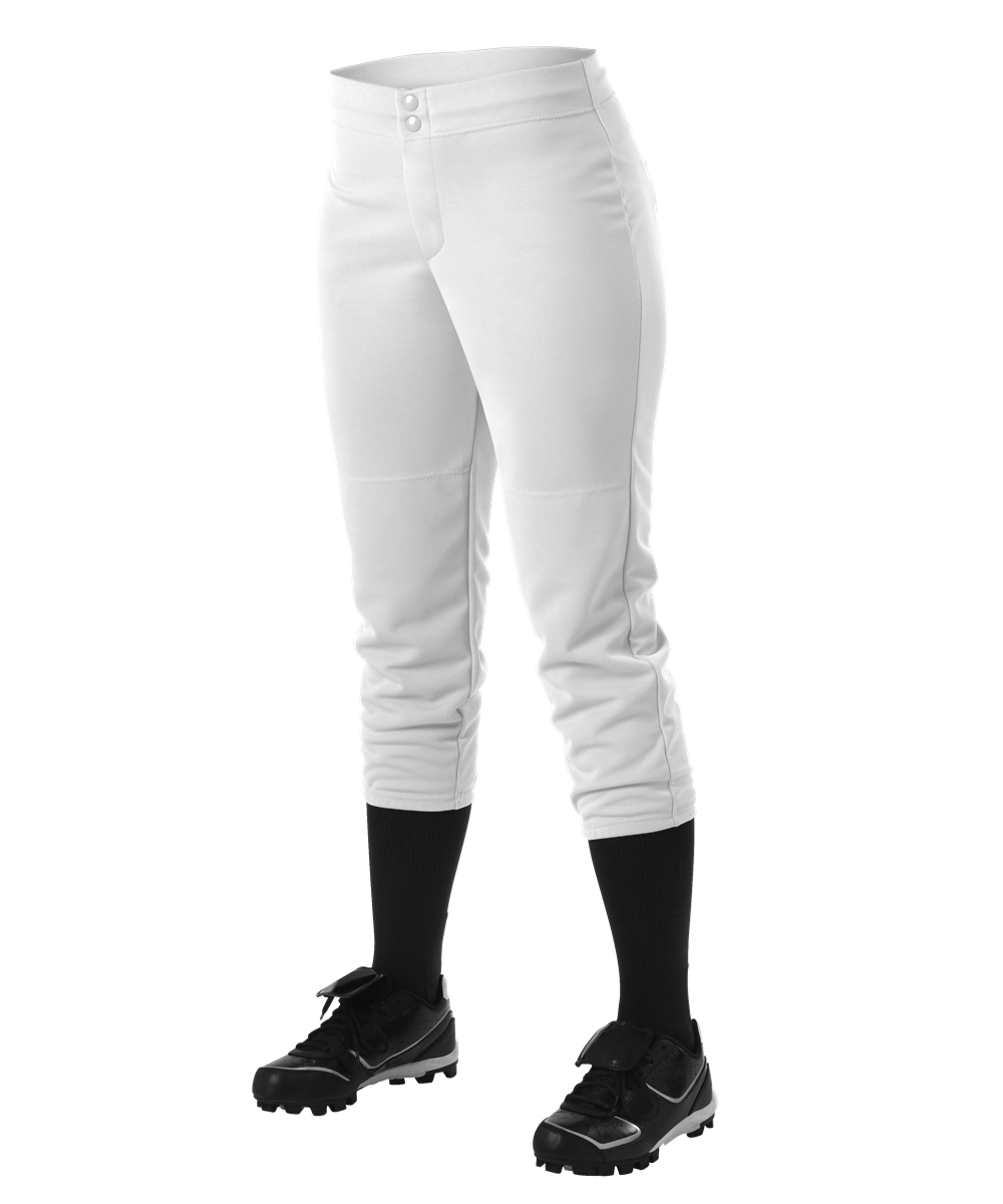 Womens Fastpitch Pant - White