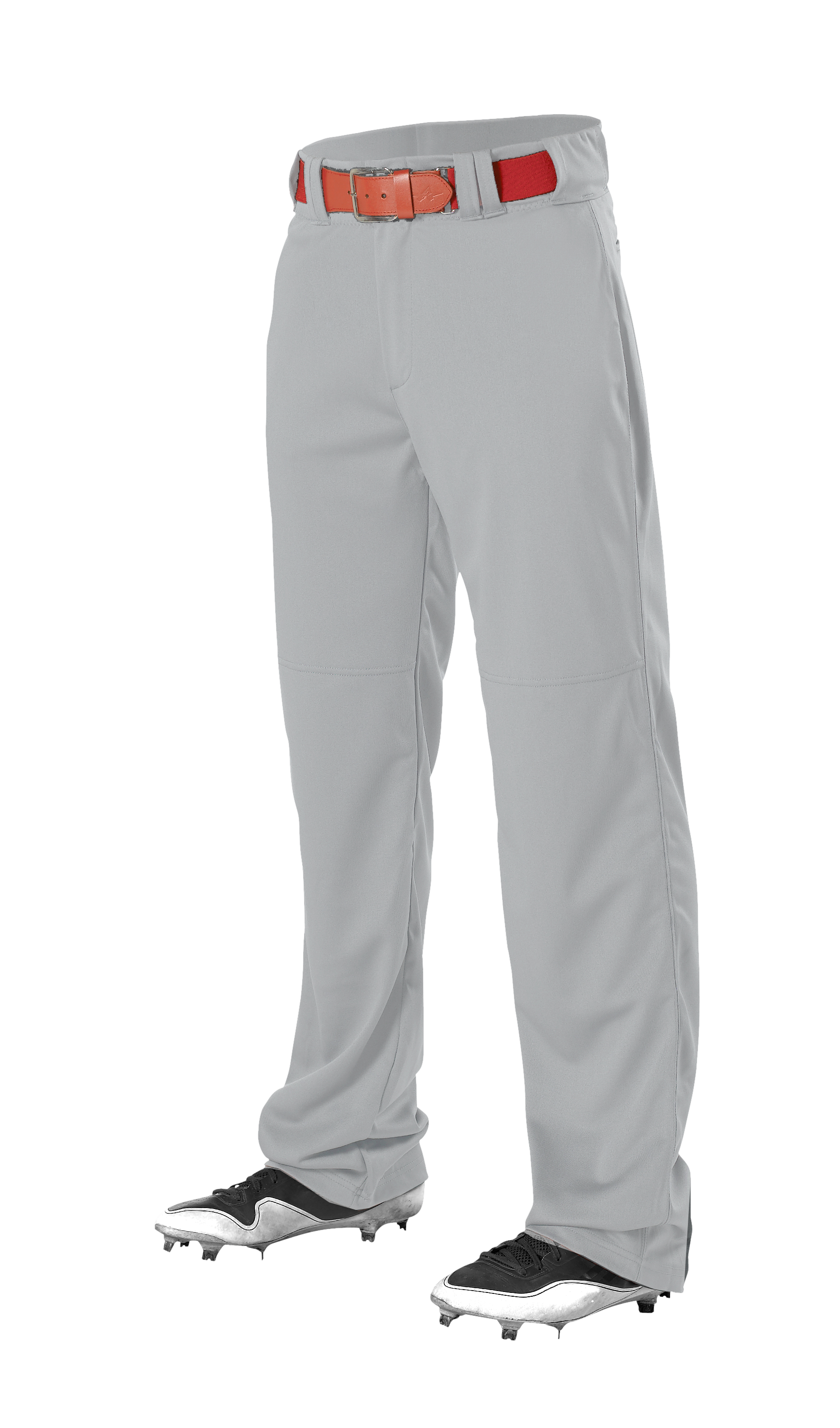 Adult Adjustable Inseam Baseball Pant - Grey