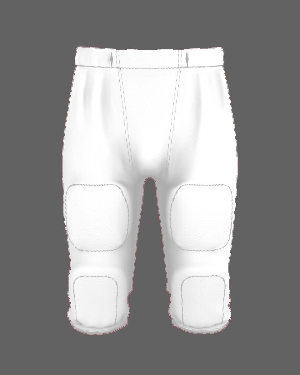 Youth Interception Football Pant - White
