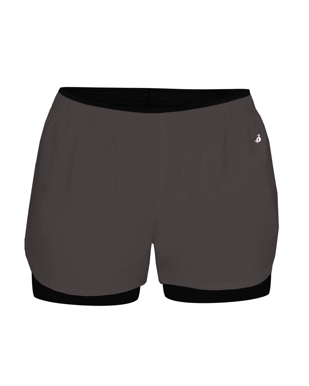Double Up Women's Short - Graphite/Black