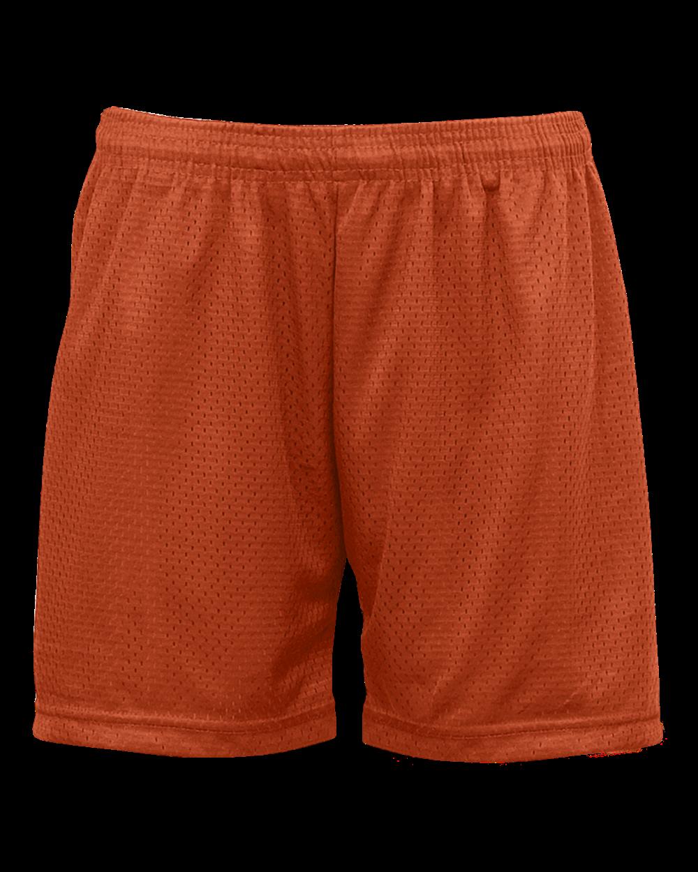 Mesh/Tricot Women's Short - Burnt Orange