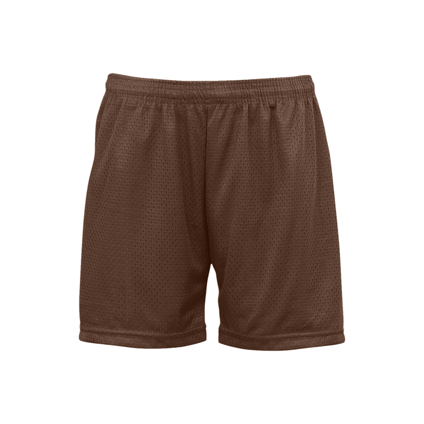 Mesh/Tricot Women's Short - Brown