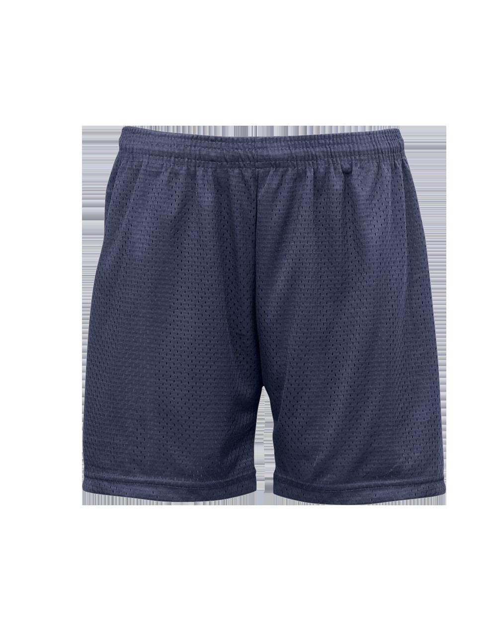Mesh/Tricot Women's Short - Navy