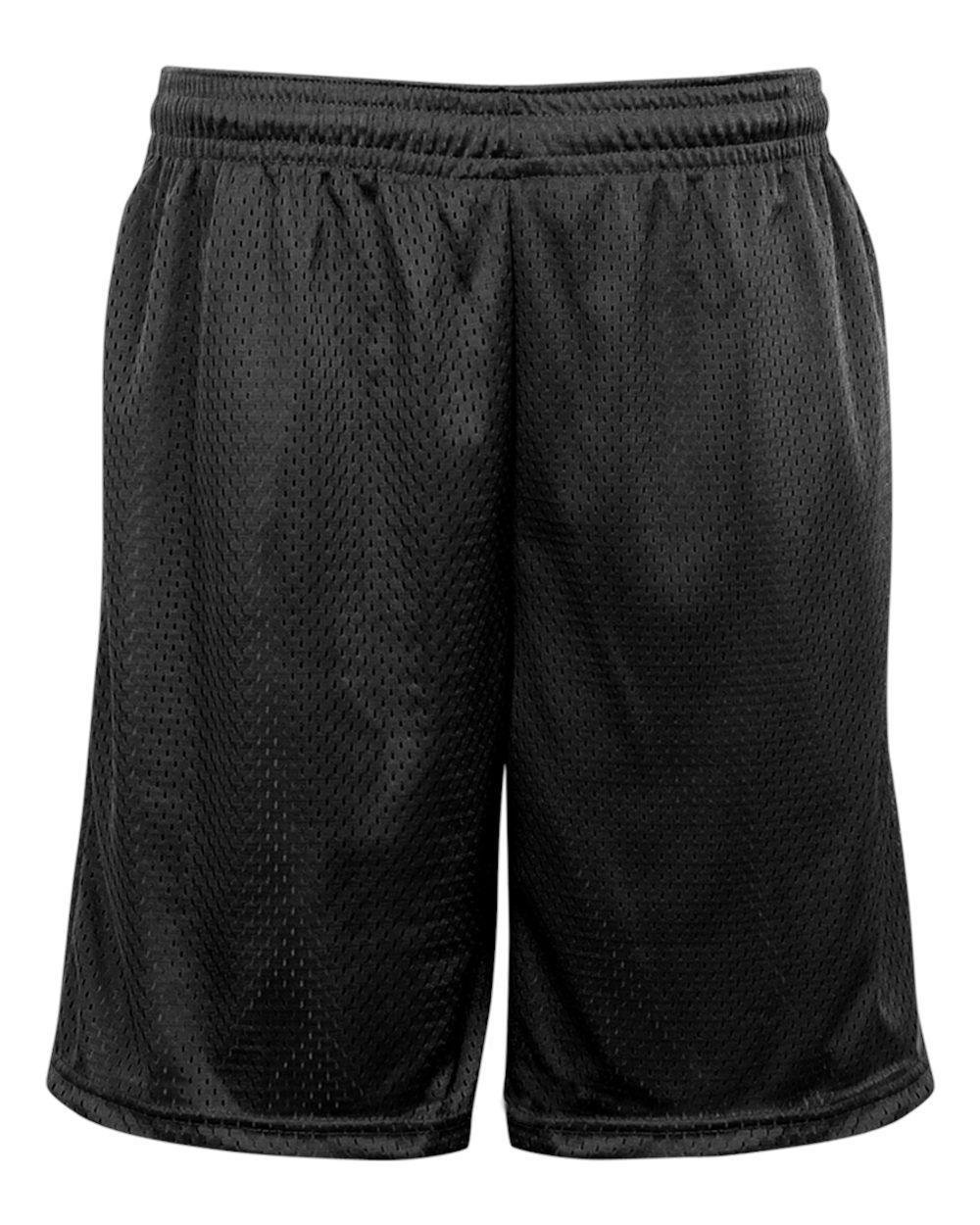 Mesh Pocketed Short - Black