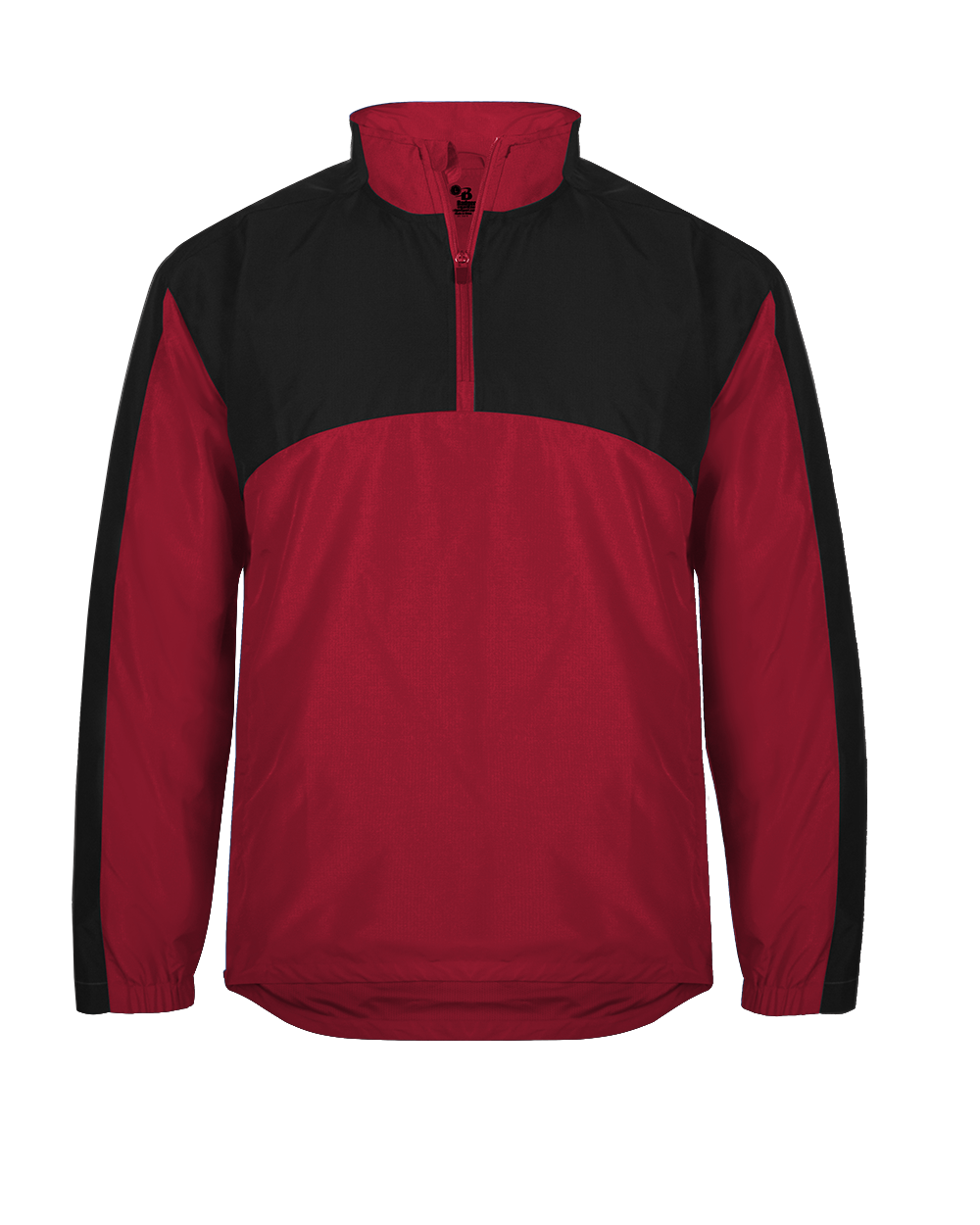 Contender 1/4 Zip Jacket - Red/Black