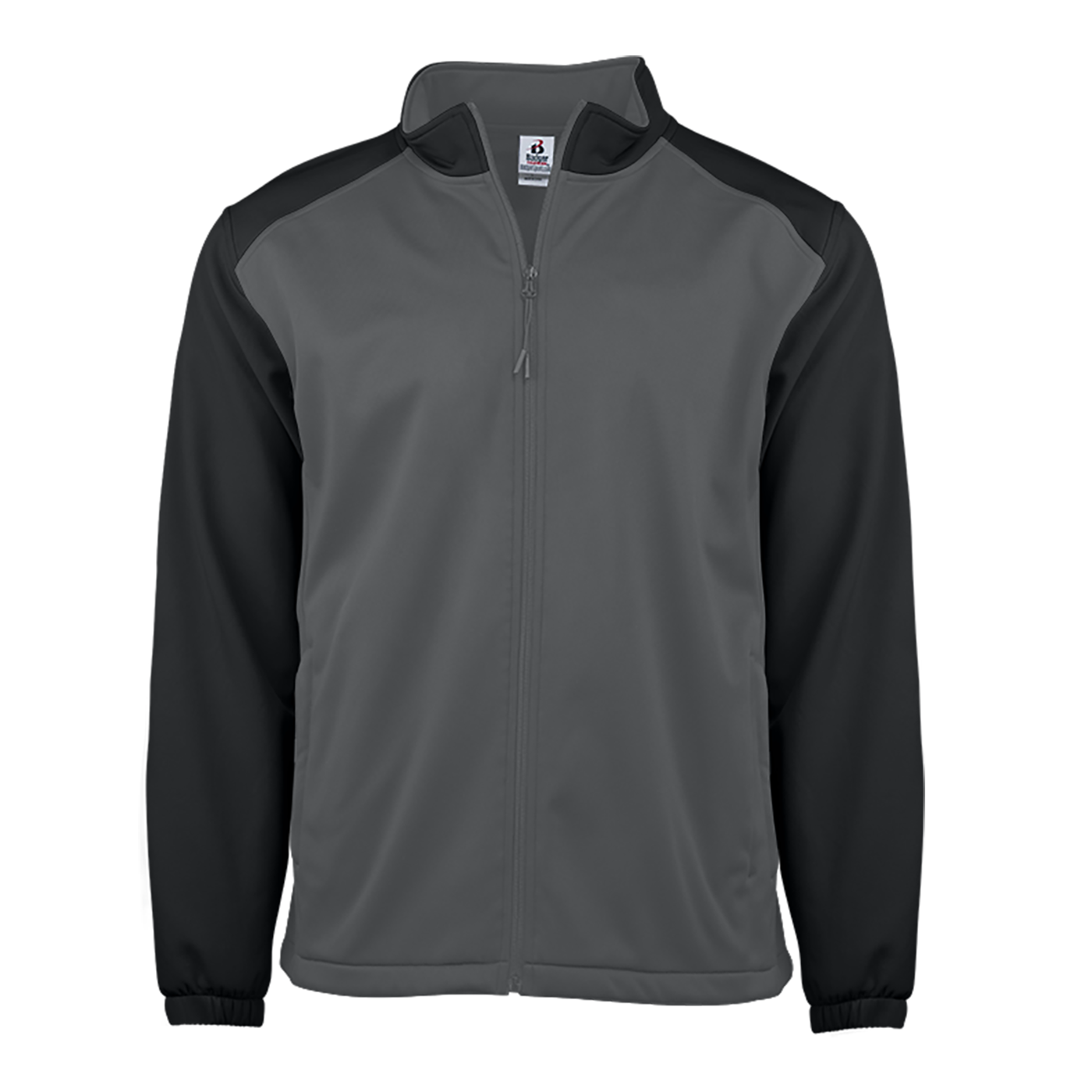 Soft Shell Sport Jacket - Graphite/Black