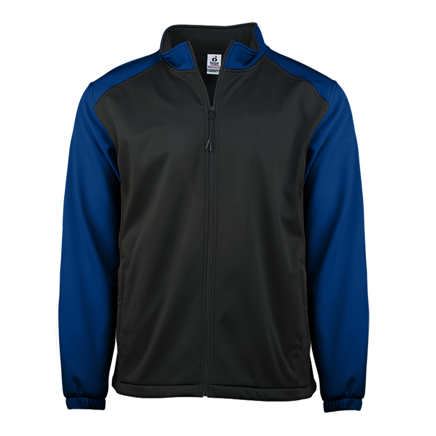 Soft Shell Women's Jacket - Black/Royal