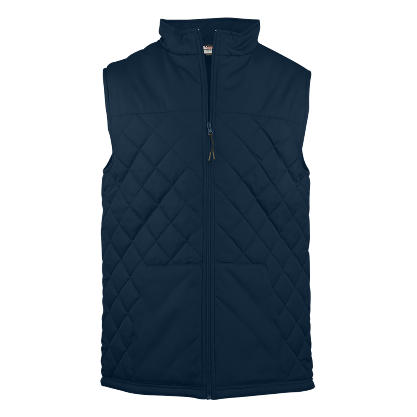 Quilted Women's Vest - Navy