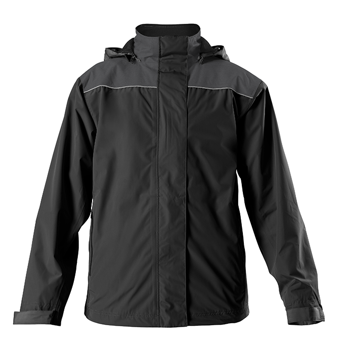 RainBlock WP Jacket - Black/ Black Heather