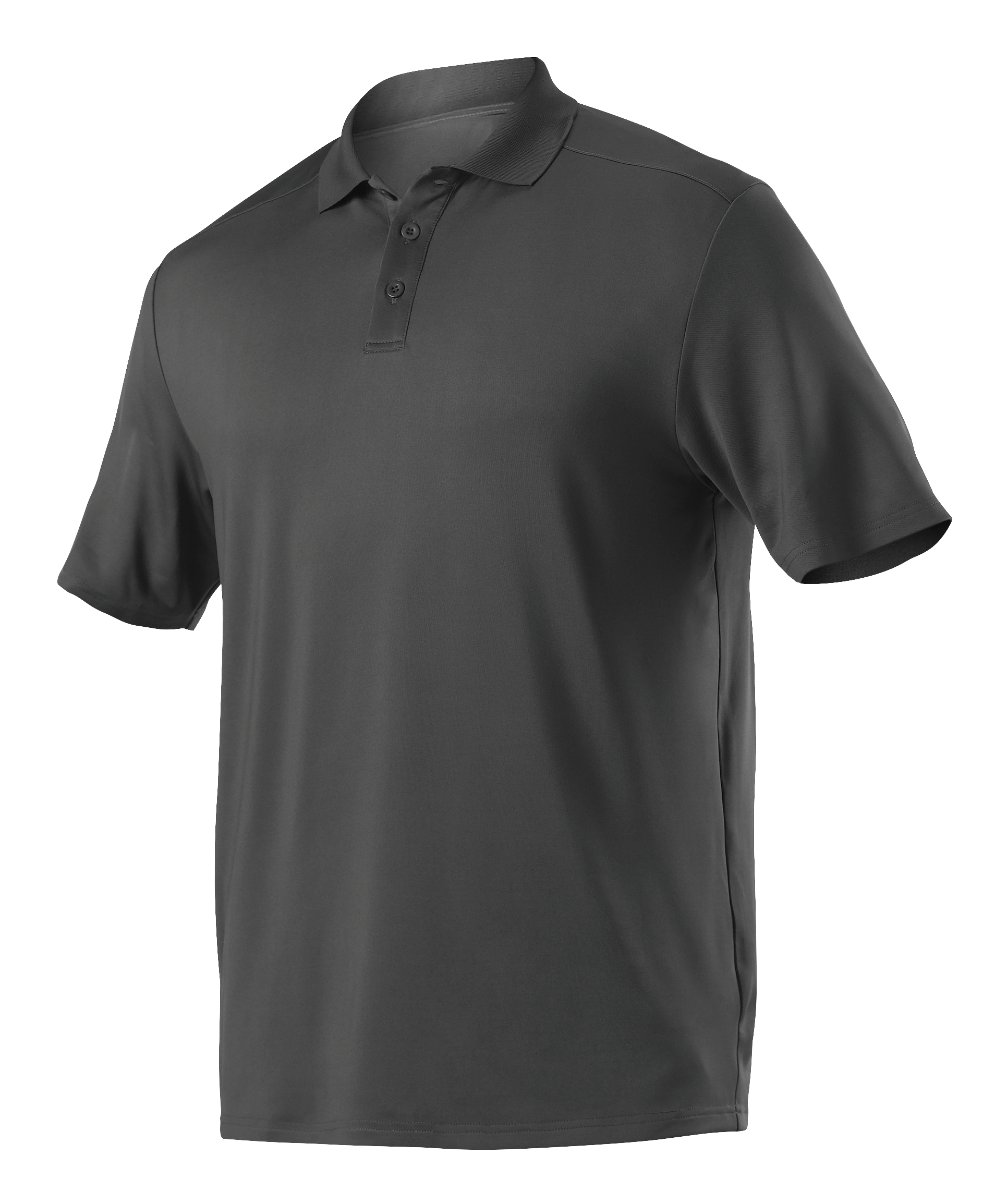 Womens Gameday Polo - Charcoal Solid
