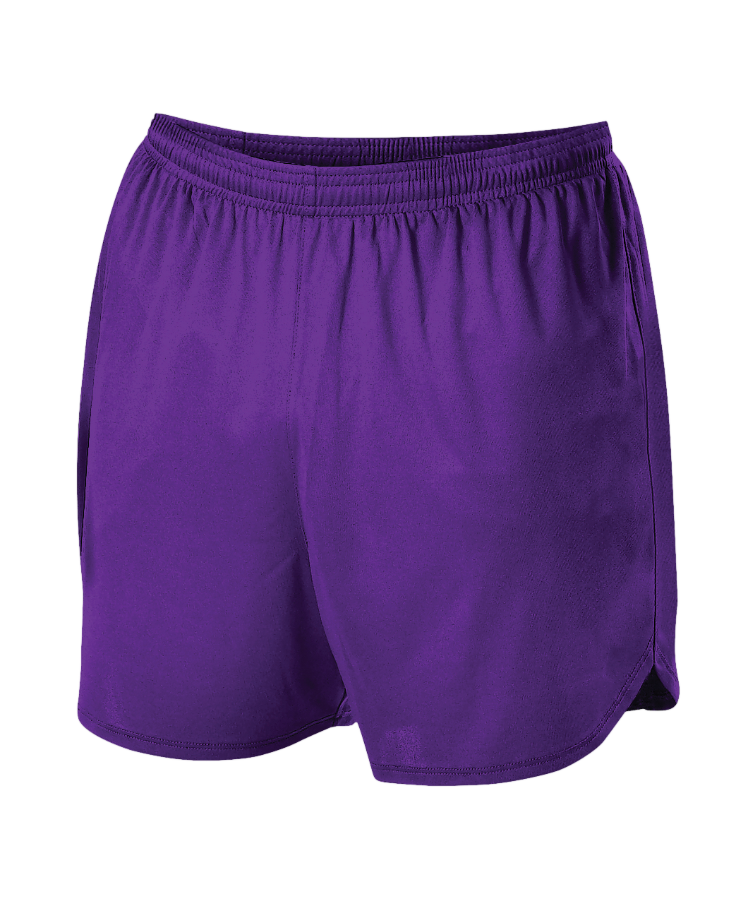 Womens Woven Track Short - Purple