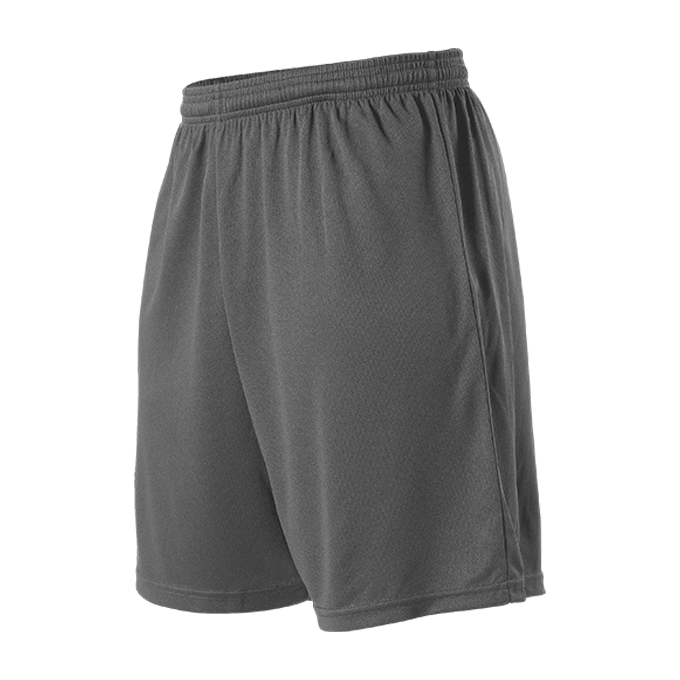 Womens Striker Soccer Short - Charcoal Solid