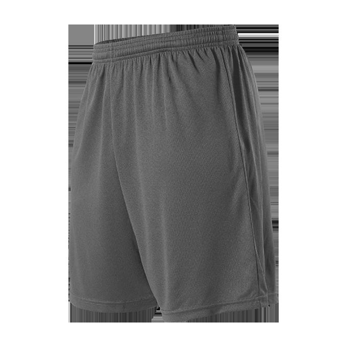 Womens Striker Soccer Short - Charcoal Solid