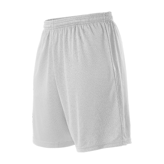 Womens Striker Soccer Short - White